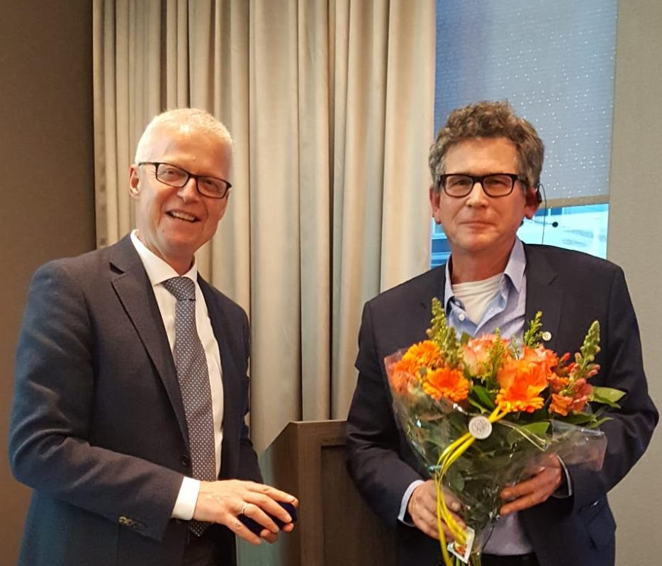 Benoeming erelid prof. Willem van Mechelen