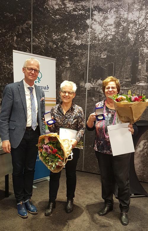 Inge Speller en Karien van Roessel bedrijfsarts par excellence 2020