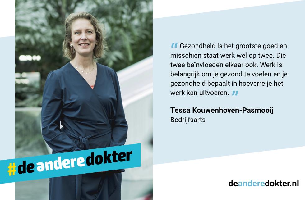 Tessa Kouwenhoven, bedrijfsarts