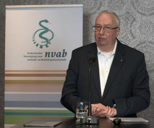 Kees van Vliet, voormalig directeur NVAB